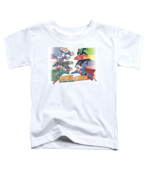 Jla - Evildoers Beware Toddler T-Shirt