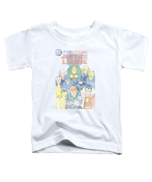 Jla - Justice League #1 Cover Toddler T-Shirt