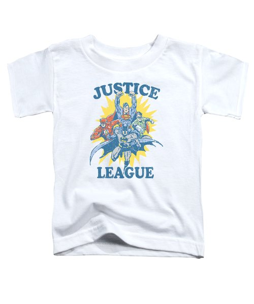 Jla - Let's Do This Toddler T-Shirt