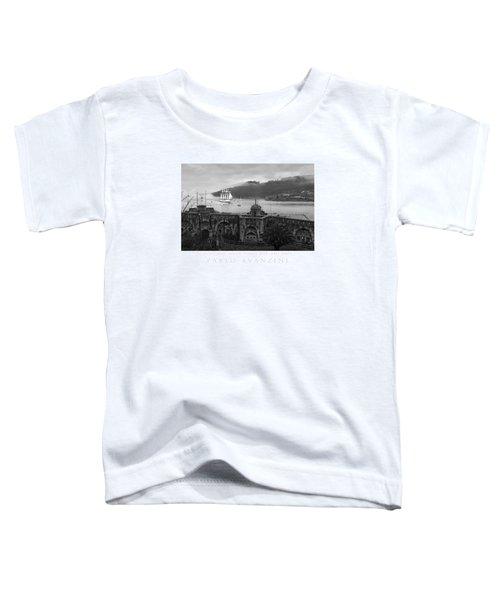 Juan Sebastian Elcano Arrival To The Port Of Ferrol Toddler T-Shirt
