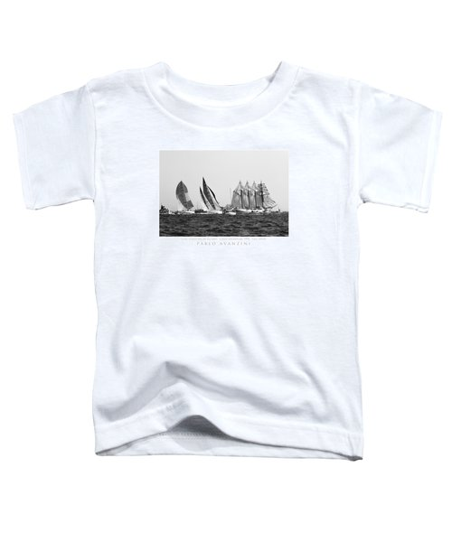 Juan Sebastian Elcano Departing The Port Of Cadiz Toddler T-Shirt