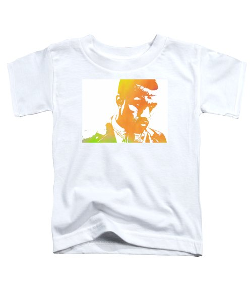 Kanye West Pop Art Toddler T-Shirt by Dan Sproul