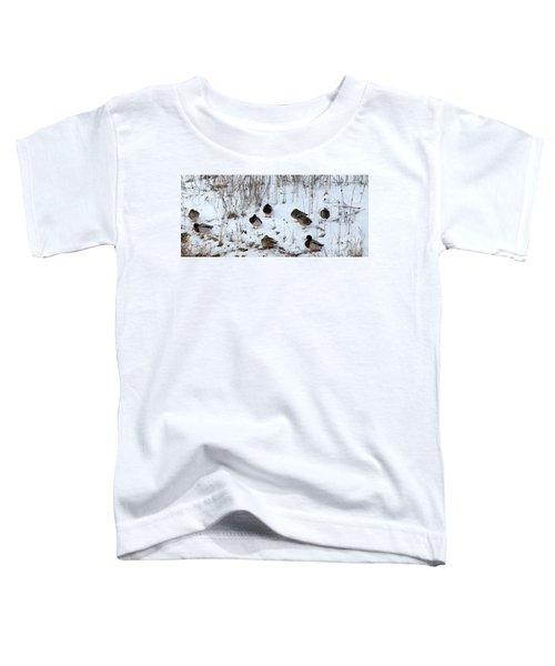 Keeping Warm Toddler T-Shirt