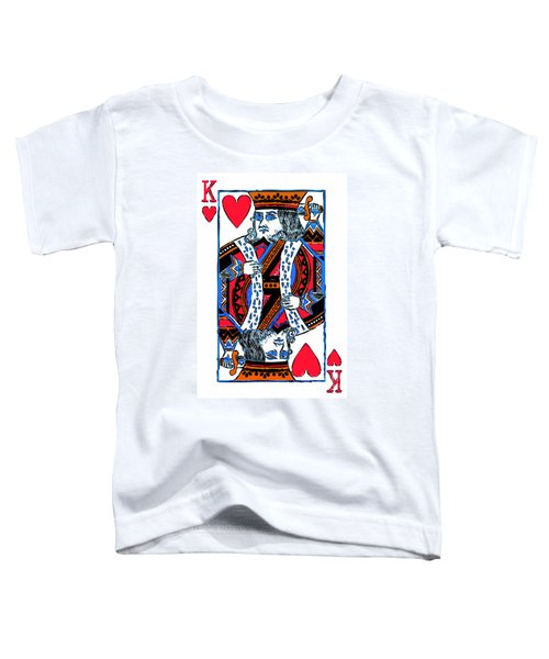 King Of Hearts 20140301 Toddler T-Shirt
