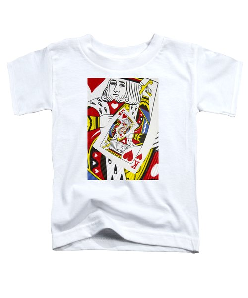 King Of Hearts Collage Toddler T-Shirt