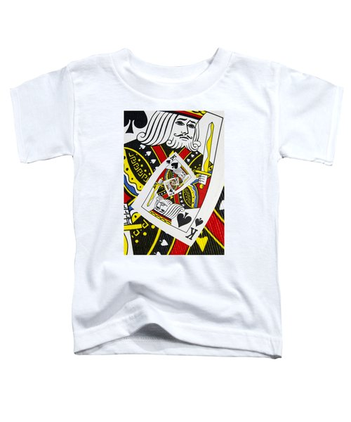 King Of Spades Collage Toddler T-Shirt