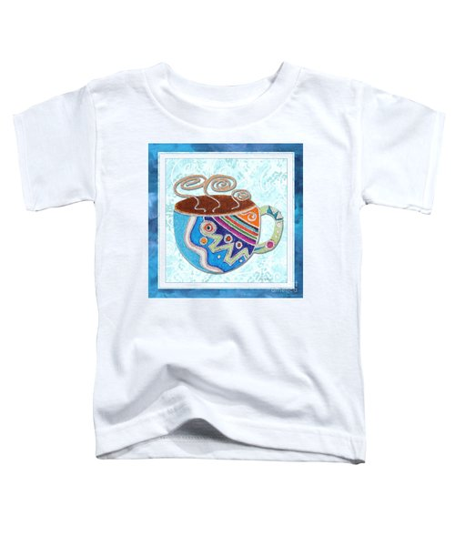 Kitchen Cuisine Hot Cuppa No20 By Romi And Megan Toddler T-Shirt