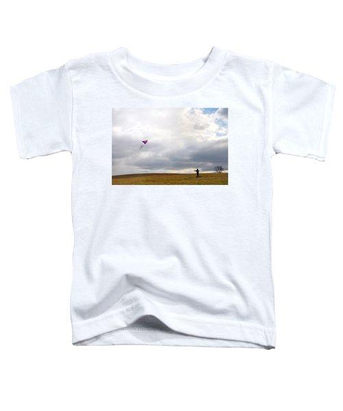 Kite Flying Toddler T-Shirt