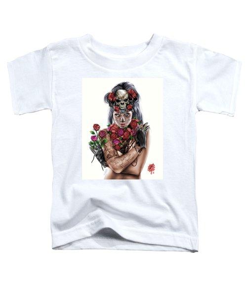 La Calavera Catrina Toddler T-Shirt