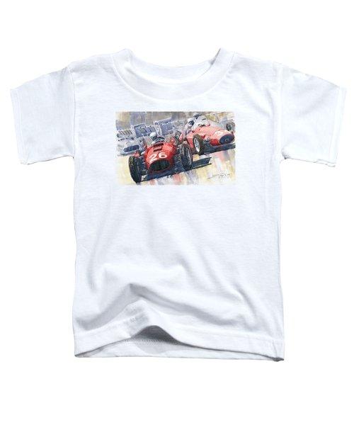 Lancia D50 Alberto Ascari Monaco 1955 Toddler T-Shirt