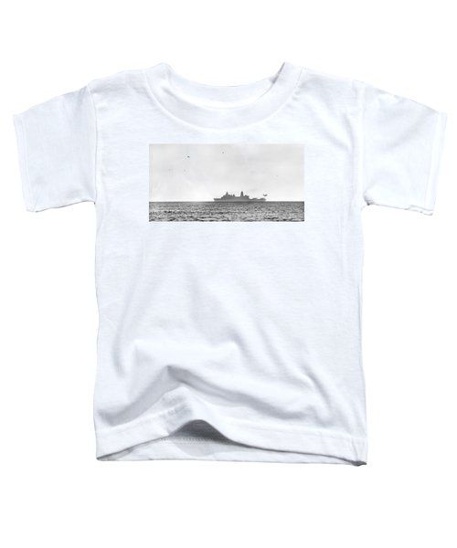 Landing On The Horizon Toddler T-Shirt by Betsy Knapp