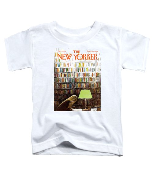Late Night At The Library Toddler T-Shirt