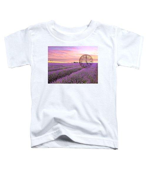 Lavender Time Toddler T-Shirt