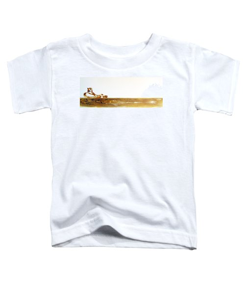 Lazy Dayz Cheetah - Original Artwork Toddler T-Shirt