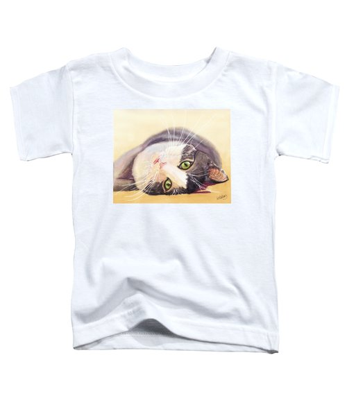 Lazy Kitty Toddler T-Shirt