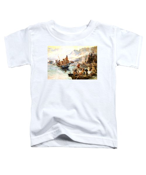 Lewis And Clark On The Lower Columbia  Toddler T-Shirt