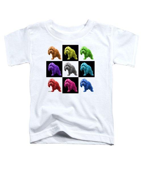 Lhasa Apso Pop Art - 5331 - V2- M Toddler T-Shirt