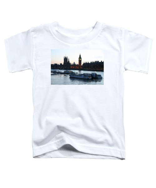 Lighting Up Time On The Thames Toddler T-Shirt