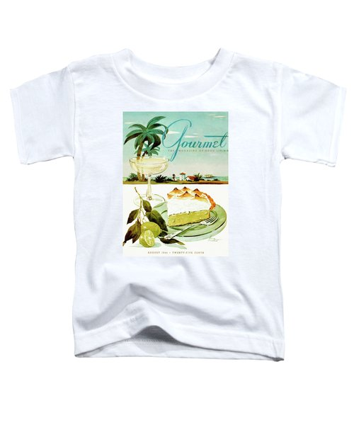 Lime Meringue Pie With Champagne Toddler T-Shirt