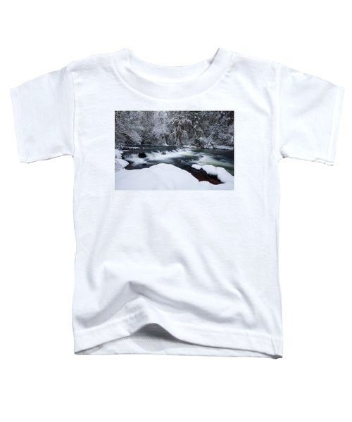 Little Fall Creek Winter Toddler T-Shirt