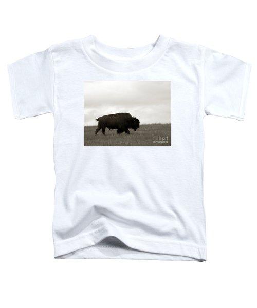 Lone Bison Toddler T-Shirt