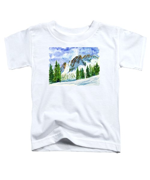 Lone Tree In The Afternoon Toddler T-Shirt