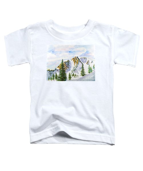 Lone Tree In The Morning Toddler T-Shirt