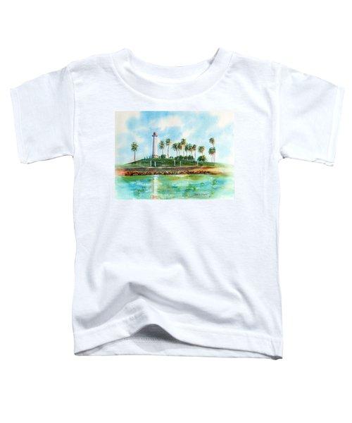 Long Beach Lighthouse  Version 2 Toddler T-Shirt