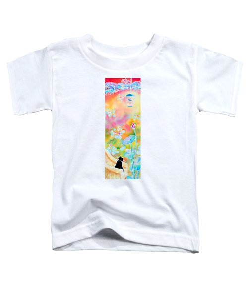 Lotus Pond Toddler T-Shirt