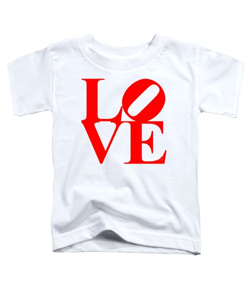 Love 20130707 Red White Toddler T-Shirt