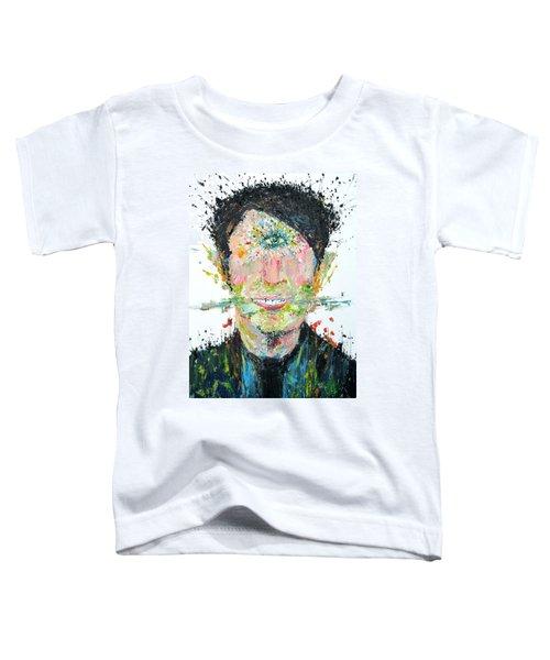 Love Me Do Toddler T-Shirt by Fabrizio Cassetta