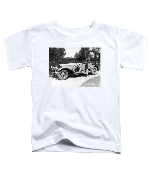 Mabel Normand In A Rolls Royce Toddler T-Shirt