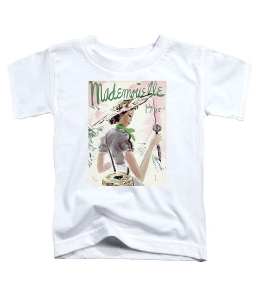Mademoiselle Cover Featuring A Woman Holding Toddler T-Shirt