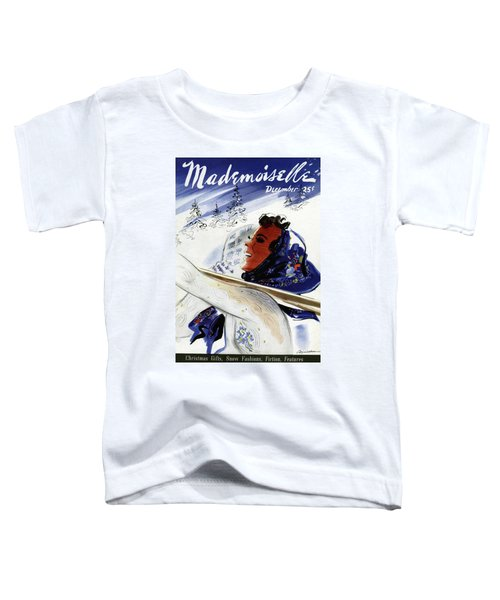 Mademoiselle Cover Featuring An Illustration Toddler T-Shirt