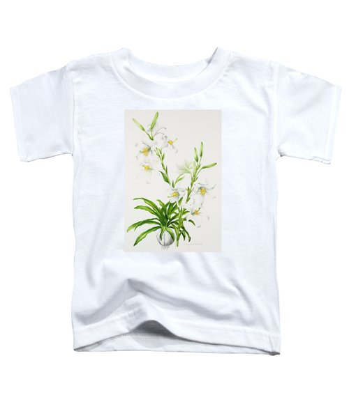 Madonna Lily Toddler T-Shirt