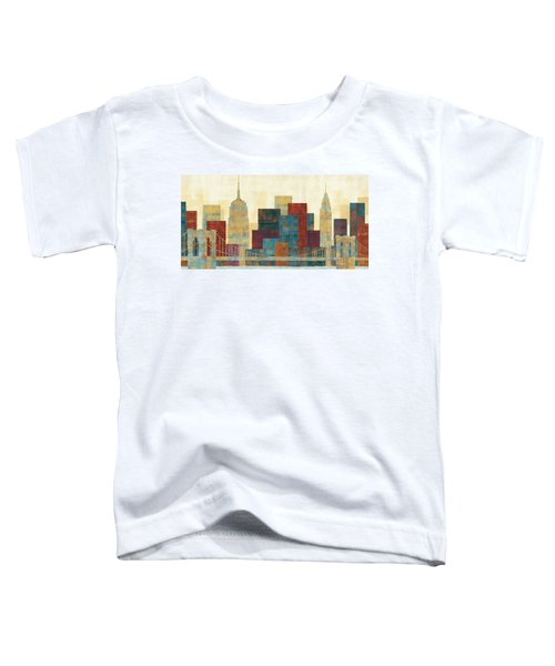 Majestic City Toddler T-Shirt by Michael Mullan