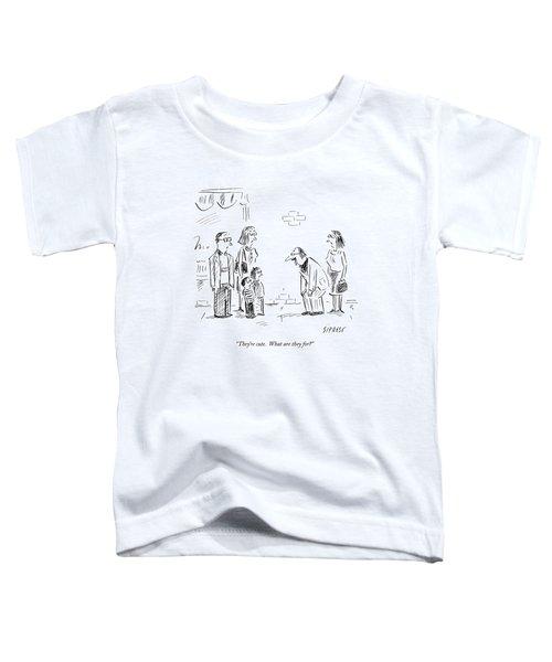 Man Referring To Children Toddler T-Shirt