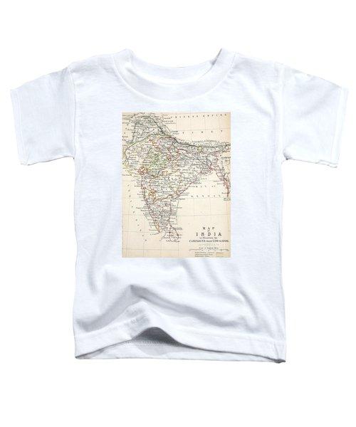 Map Of India Toddler T-Shirt