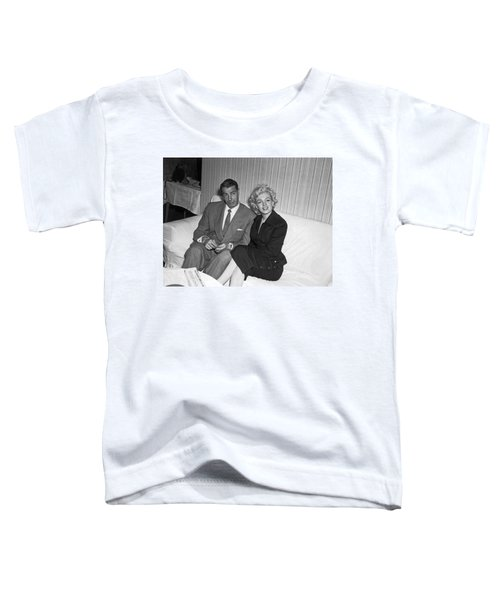 Marilyn Monroe And Joe Dimaggio Toddler T-Shirt