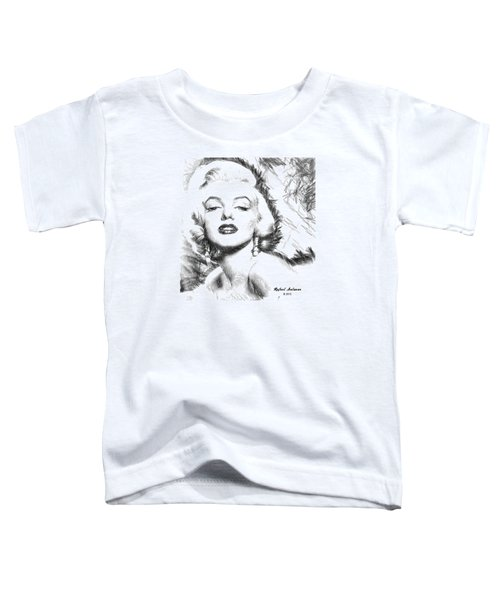 Marilyn Monroe - The One And Only  Toddler T-Shirt