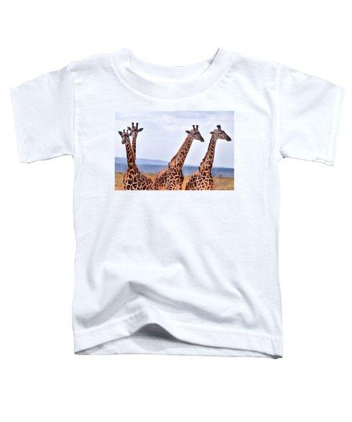 Masai Giraffe Toddler T-Shirt