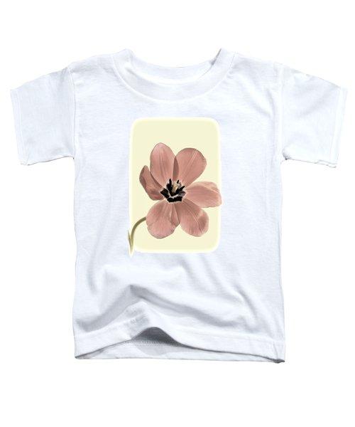 Mauve Tulip Transparency Toddler T-Shirt