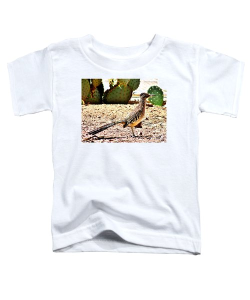 Meep Meep Toddler T-Shirt by Marilyn Smith