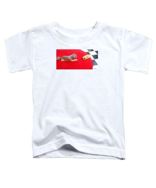 Meeting Mr. Blu Toddler T-Shirt