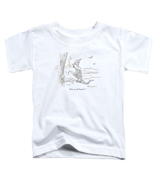 Memo To Self: 'feathers?' Toddler T-Shirt