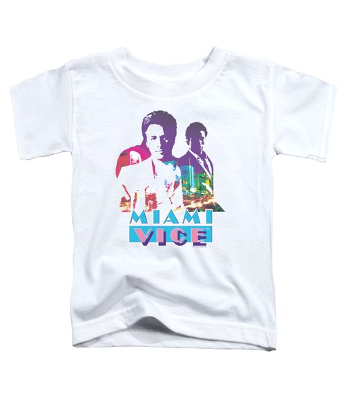 Miami Vice - Crockett And Tubbs Toddler T-Shirt by Brand A