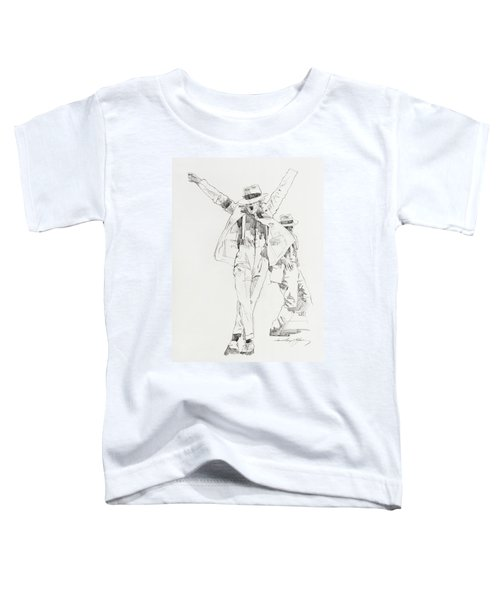 Michael Smooth Criminal Toddler T-Shirt