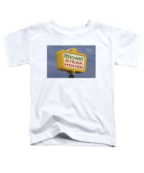 Midway Seaside Heights Boardwalk Nj Toddler T-Shirt
