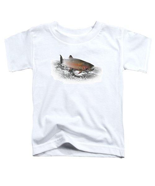 Migrating Steelhead Rainbow Trout Toddler T-Shirt
