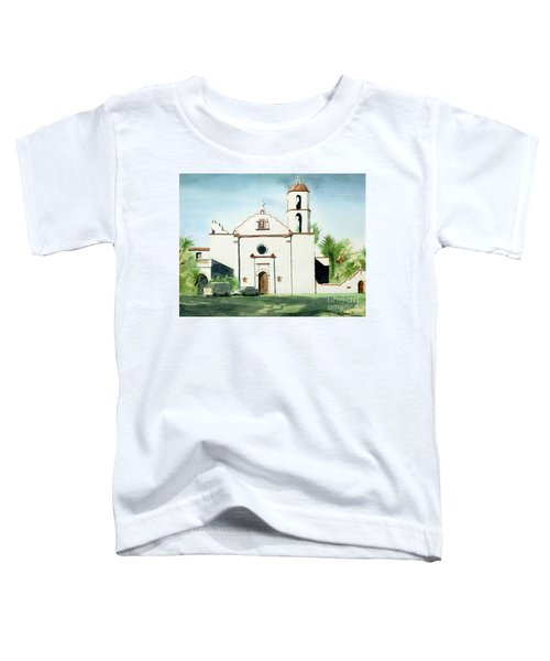 Mission San Luis Rey Colorful II Toddler T-Shirt